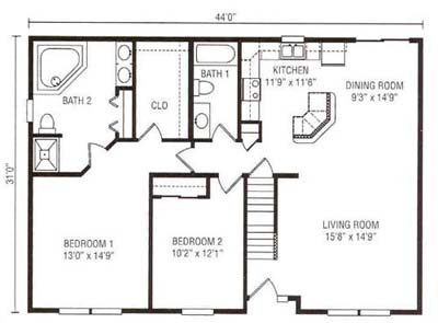 Exceptional Living With A Master Bedroom Suite Walk In Closet And Grand Bath Open Dining Room Kitchen Creating The Perfect Home