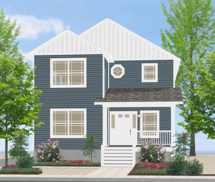 Shore modular for Narrow lot modular homes