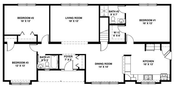 Shore Modular Modular Homes Plans Ranch
